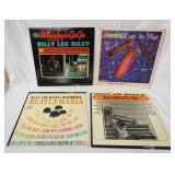 1132LOT OF FOUR BILLY RAY RILEY ALBUMS; HARMONICA AND THE BLUES, WHISKEY