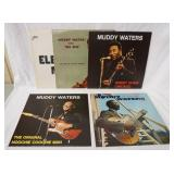 1135LOT OF FIVE MUDDY WATERS ALBUMS; ELECTRC MUD (GATEFOLD & COMES W/ BOOKLET) MUDDY WATERS SINGS *