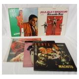 1139LOT OF 6 LATIN RECORDS; MANUEL RIVERA CHA CHA CHA, SE SOTO ON THE LOOSE RICARDO RAY & JALA JALA