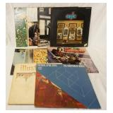 1141LOT OF TEN ROCK ALBUMS; TUESDAY, APRIL 19TH THD UNSPOKEN WORD (GATEFOLD) ILLUSTRATION (GATEFOLD