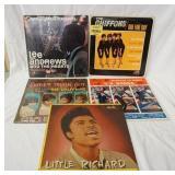 1147LOT OF FIVE R & B ALBUMS; LITTLE RICHARD, DANCE