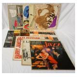 1156LOT OF 12 JAZZ RECORDS; THE GENIUS OF ART TATUM, TATUM CARTER BELLSON, LIONEL HAMILTON QUINTET,