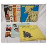 1160LOT OF SEVEN COUNTRY ALBUMS ON KING RECORD LABEL; FERLIN HUSKY, HOMER & JETHRO WILL DRIVE YOU N