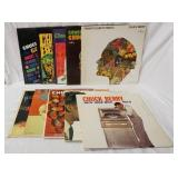 1161LOT OF TEN CHUCK BERRY ALBUMS; LIVE AT THE FILLMORE AUDITORIUM, GOLDEN HITS, CHUCK BERRY IS ON