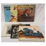 1166LOT OF SIX JAZZ ALBUMS; THE SOPHISTCATE PIANO WHISPERING JAZZ KOKOMO WELLINGTON, COZY COLE DANC