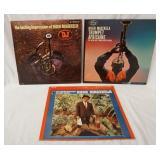 1168LOT OF THREE HUGH MASEKELA ALBUMS; TRUMPET AFRICAINE, THE LASTING IMPRESSION OF HUGH MASEKELA &