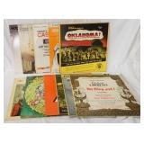 1169LOT OF 11 MOTION PICTURE SOUNDTRACKS/SHOWTUNES; OKLAHOMA! LAWRENCE OF ARABIA, CASINO ROYALE, TH