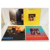 1172LOT OF FIVE THE STEVE MILLER BAND ALBUMS; BRAVE NEW WORLD (GATEFOLD) YOUR SAVING GRACE (GATEFOL
