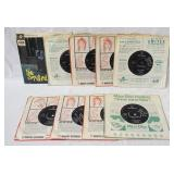 1195LOT OF NINE BRITISH YARDBIRDS 45S ALL ARE IN ORIGINAL SLEEVES ONE HAS PICTURE SLEEVE