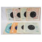 1197LOT OF EIGHT BRITISH THE ANIMALS 45S IN ORIGINAL SLEEVES