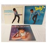 1200LOT OF THREE STEVE ALAIMO ALBUMS ON CHECKER RECORD LABEL (MAROON); MASHED POTATOES, TWIST WITH