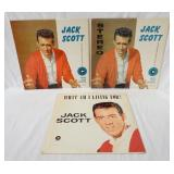 1201LOT OF THREE JACK SCOTT ALBUMS; JACK SCOTT ( TWO COPIES ONE IS STEREO, THE OTHER IS MONO) & WHA