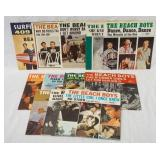 1203LOT OF 12 AMERICAN THE BEACH BOYS 45S ALL HAVE PICTURE SLEEVES