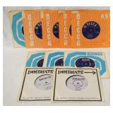 1205LOT OF TEN BRITISH SMALL FACES 45S ALL HAVE ORIGINAL SLEEVES
