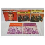 1206LOT OF FIVE JOHNNY & THE HURRICANES 45S IN PICTURE SLEEVES