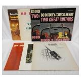1210LOT OF SEVEN BO DIDDLEY ALBUMS ON CHECKER RECORD LABEL; BO DIDLEYS BEACH PARTY, BO DIDDLEY/CHUC