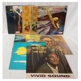 1212LOT OF TEN EARL BOSTIC ALBUMS ON KING RECORD LABEL; C