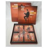 1214HANK BALLARD AND THE MIDNIGHTERS NOTHING BUT GOOD 1952-1962 BOX SET. COMES WITH FIVE CDS & BOOK