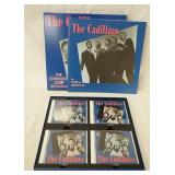 1217THE CADILLACS THE COMPLETE JOSIE SESSIONS BOX SET. COMES WITH FOUR CDS & BOOK (BEAR FAMILY RECO