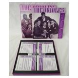 1225THE ORIELES THE JUBILEE RECORDINGS BOX SET. COMES WITH SIX CDS & BOOK (BEAR FAMILY RECORDS)