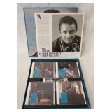 1227JOHNNY CASH THE MAN IN BLACK 1954-1958 BOX . COMES WITH FIVE CDS & BOOK (BEAR FAMILY RECORDS)
