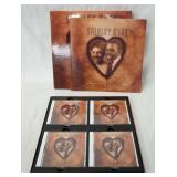 1228SHIRLEY & LEE THE SWEEETHEARTS OF THE BLUES BOX SET. COMES WITH FOUR CDS & BOOK (BEAR FAMILY RE
