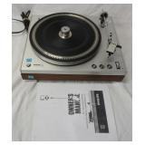 1246PHILIPS 212 RECORD PLAYER TURNTABLE, POWERS UP, NO FURTHER TESTING DONE, ESTATE ITEMS SOLD AS I