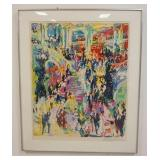 1017LEROY NEIMAN SIGNED FRAMED ARTIST PROOF, IMAGE SIZE 25 3/4 IN X 32 1/2 IN, OVERALL DIMENSIONS 3