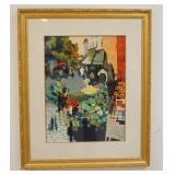 1061LITHOGRAPH SIGNED AND NUMBERED 68 OF 350. IMAGE SIZE 17 IN X 23 IN., OVERALL DIMENSIONS 29 IN X