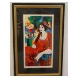 1093SERIGRAPH SIGNED PATRIC AND NUMBERED 157/375. IMAGE SIZE 11 1/2 IN X 21 1/2 IN., OVERALL DIMENS