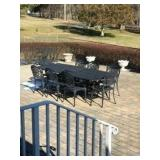 FORTUNOFF CAST ALUMINUM PATIO, LLOYD FLANDERS WICKER, ETHAN ALLEN, ETC!