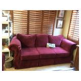 2 or 2 Burgundy Sofas