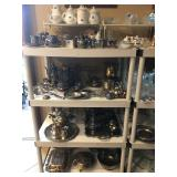 Misc. Silver plated & Pewter Items