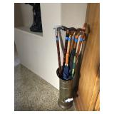 Umbrella Stand / Misc. Canes