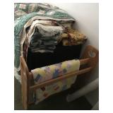 Quilt Rack - Vintage Quilts