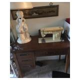 Sewing Machine in Table