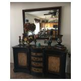 Buffet Cabinet / Wall Mirror