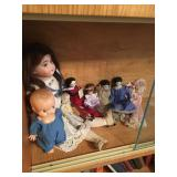 Vintage Dolls - German Porcelain