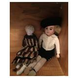 Vintage German Porcelain Dolls