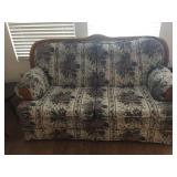 2 of 2 Floral Loveseats