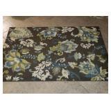 Floral Floor Rug