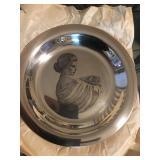 Sterling Franknlin Mint Plate