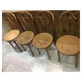 (4) Vintage Kitchen Chairs