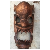 Large Wooden Decor Mask