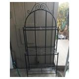 Black Bakers Rack / Plant Stand
