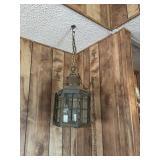 Vintage Lantern- Style Hanging Light