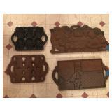 Vintage Cast Iron Molds