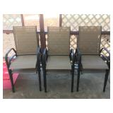 (6) Patio Chairs