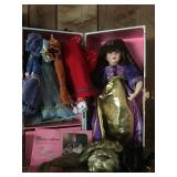 Doll w/ Clothes & Wigs