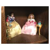 Porcelain Disney Princess Dolls